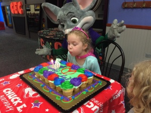 Kara and her cake