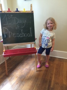 Analise's First Day of Preschool!