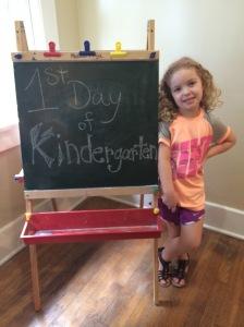 Kara's 1st Day of Kindergarten!