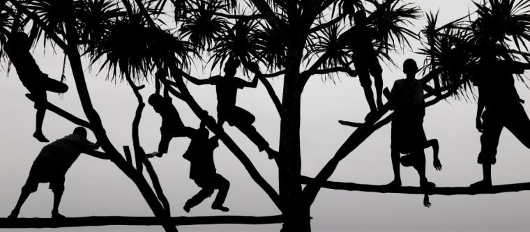 Children at play, Zanzibar, Tanzania